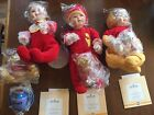 Lot Of 3 ASHTON DRAKE Winnie the Pooh Dolls You Need a Hug Whats for Lunch COA