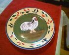 Style Eyes Baum Brothers Provence Rooster Collection Salad Plate