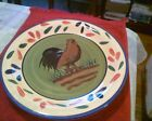 Style Eyes Baum Brothers Provence Rooster Collection Dinner Plate