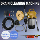 3 4 to 5 Sectional Pipe Drain Cleaning Machine Snake Cleaner Sewer Tool Set