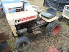 Bolens 1050 tractor with mower deck and plow blade for parts or repair