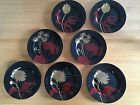 Fitz Floyd IMPERIAL GARDEN - Set of 7 Salad Plates- Excellent  Condition