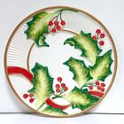 Fitz Floyd Christmas Holly Serving Plate 8