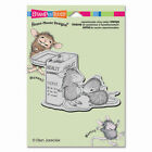 Stampendous House Mouse Cling Stamp 55X45 First Aid NEW