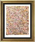 Jackson Pollock Rare Signed  Hand Numbered Ltd Ed Untitled Print unframed