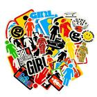 New Girl Assorted Logo Pack 44 Stickers