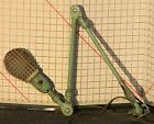 Vintage Industrial Light Folding Arm Swing Out Shop Safety Shade Jointed