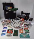 Singer Featherweight 221 and many attachments and accessories