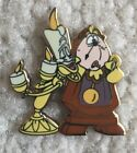 Disney Pin Lumiere Cogsworth from Beauty And The Beast