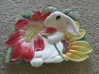 Fitz and Floyd Essentials 'Bunny Blooms' Canape Plate    NEW