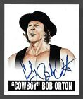 2012 Leaf Originals Wrestling #BO1 Cowboy Bob Orton On Card Base Autograph