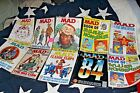Lot of 10 Mad Magazines from the 1970s 80 and 90s
