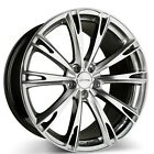 4 pcs 19 Ace Alloy Wheels Aspire Hyper Silver with Machined Rims