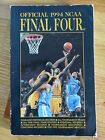 Official 1994 NCAA FINAL FOUR Record Guide MICHIGAN WOVERINES vs UNC TAR HEELS