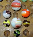 Vintage Marbles:  Neat Group of Marble King Marbles!!!  WOW!!