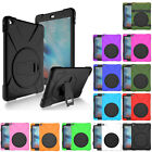 360 Rotating Kickstand Shockproof Heavy Duty Case Cover For iPad 2 3 4 Air 2
