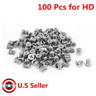New Lot 100 pcs Laptop 25 HDD Hard Drive Caddy Screws for Dell HP TOSHIBA
