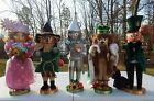 Steinbach Nutcrackers Wizard of Oz 5 Piece Set Overall Good Condition with Boxes