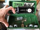 Vintage Singer Buttonholer And Attachments For Singer Machine
