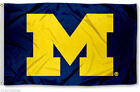 Michigan Wolverines Yellow 3X5FT FLAG BANNER