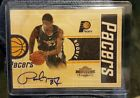 2010-11 Panini Threads - PAUL GEORGE Wood Rookie Autograph RC # 399 PACERS AUTO