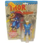 Smashing Hammer Thor Marvel Super Heroes 1991 Action Figure Toy Biz