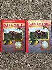 A Beka K5 Gods World Science Series Student Workbook And Teachers Edition