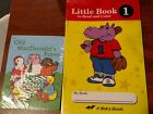 DISCOUNTED Abeka Little Books to Read and Color