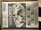 STERN MONOPOLY PINBALL MACHINE SERVICE REPAIR OWNERS MANUAL MANUEL