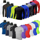 Mens Boys Body Armour Compression Base Layer Leggings Bottom Therm T Shirt Tight