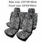 Car Seat Covers Blackblueredgray Polyester Cloth Frontrear Bench Full Set Be
