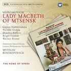 Shostakovich / Rostropovich / Vishnevskaya / Gedda Lady Macbeth 3 CD NEW sealed