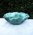 JADE GREEN GLASS BOWL IMPERIAL GLASS SLAG