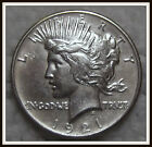 1921 1 Peace Dollar XF High Relief