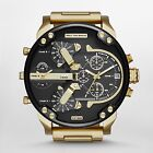NEW Diesel DZ7333 Mr. Daddy 2.0 Black Dial Chronograph Quartz Men's Watch