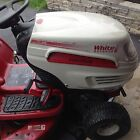 WHITE OUTDOOR LAWN GARDEN TRACTOR PRE OWNED