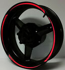 REFLECTIVE RIM STRIPE WHEEL DECAL TAPE STICKER Kawasaki Ninja 250 300 500 650 R