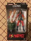 2017 Marvel Legends Ms. Marvel Spiderman Series With BAF Very Hard To Find New