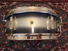 1965 Keystone Badge Silver  Blue Duco 5x14 LUDWIG PIONEER w Nickel Hardware