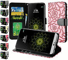 For LG K20 Plus K20 V Harmony Grace Textured Wallet Pouch Flip Stand Cover Case