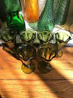 MINT CONDITION Anchor Hocking Vintage Parfait Dessert Tulip Glasses - Set of 6