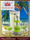 Bahamas Frozen Concoction Machine Blender Maker Drink Automatic Mixer Jar Set