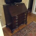 Antique Monitor Secretary Desk with Drop Leaf and Drawers - Lovely Original Cond