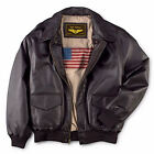 Landing Leathers Mens Air Force A 2 Leather Flight Bomber Jacket FREE SHIPPING