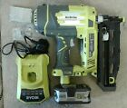 AirStrike Nailer 18V Ryobi ONE+ 18G Super Compact 5.0ah battery and charger
