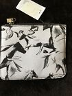 RARE BNWT French Connection Hatched Horse Small Clutch Bag
