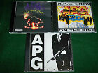 A.P.G. Crew 3 N/M APG CDs: OG Oaktowns Finest, RE On The Rise, RE See The Light