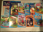 Lot of 11 ABEKA grade 1 READING PROGRAM Down by Sea AESOPS FABLES My America