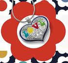BRIGHTON Summer Love Heart Reversible Necklace NWT