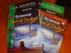 Abeka 9 Science Of The Physical Creation Text Teacher Guide Lab Book